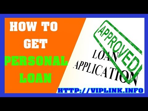 How To Get Personal Loan - Loans For People With Bad Credit Instant Approval