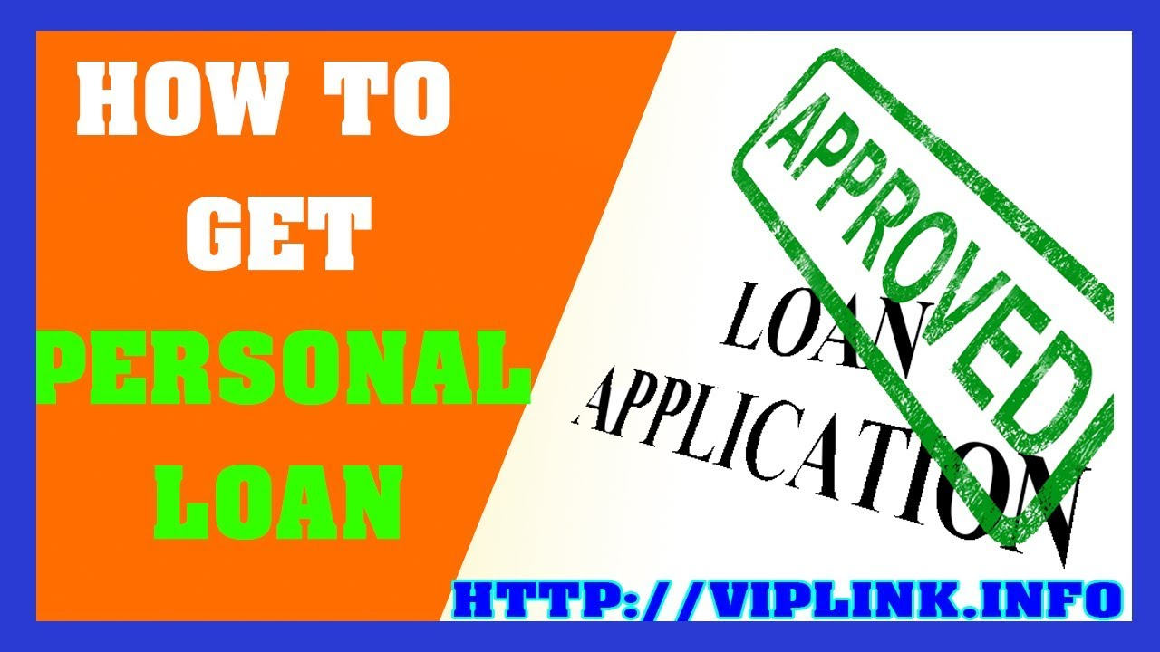 How To Get Personal Loan - Loans For People With Bad Credit Instant Approval - YouTube