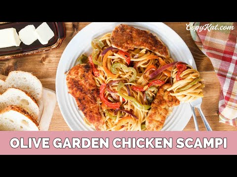 olive garden chicken scampi - Olive Garden Chicken Scampi