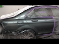 C250 Mercedes Benz: Spray Painting