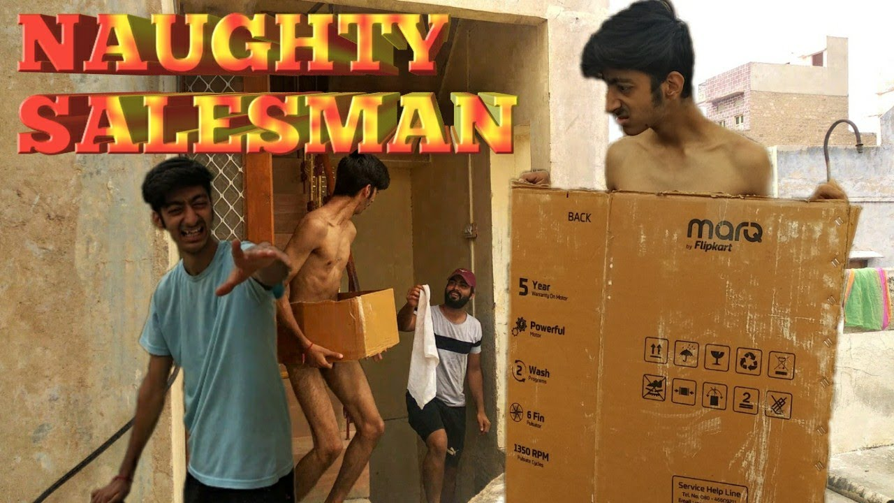 NAUGHTY SALESMAN | jr Mr Bean | funny