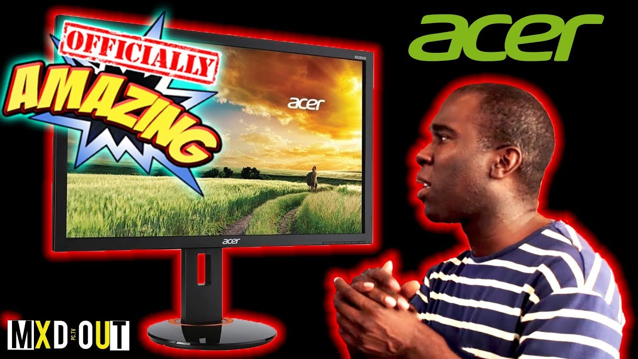 Acer XF270HU - The Best Gaming Monitor!