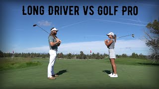 The Match- LONG DRIVER vs. GOLF PRO (18 Holes of Strokeplay at PRONGHORN Resort- Fazio Course)