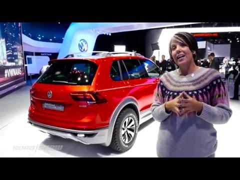 Volkswagen shows off the Tiguan GTE Active Concept