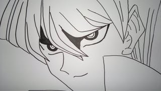 Drawing Seto Kaiba.瀬戸カイバを描画する方法.