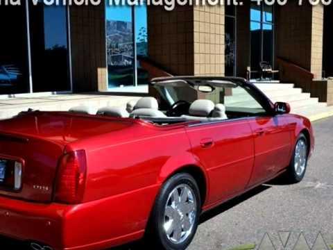 2004 Cadillac Deville Dts Convertible Scottsdale Arizona