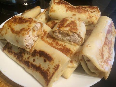 Рецепт Закуска из лаваша с фаршем и помидорами