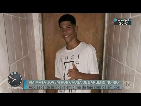 Cabo da PM é preso por suspeita de matar adolescente de 16 anos | SBT Brasil (18/07/18)