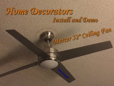 How to install Ceiling Fan with remote control H Ton Bay Fan Remote Control Wiring Diagram on
