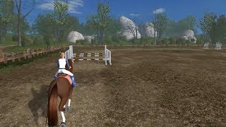 Planet Horse : GeForce 8600M GT (part 1/5) (Horse Game)
