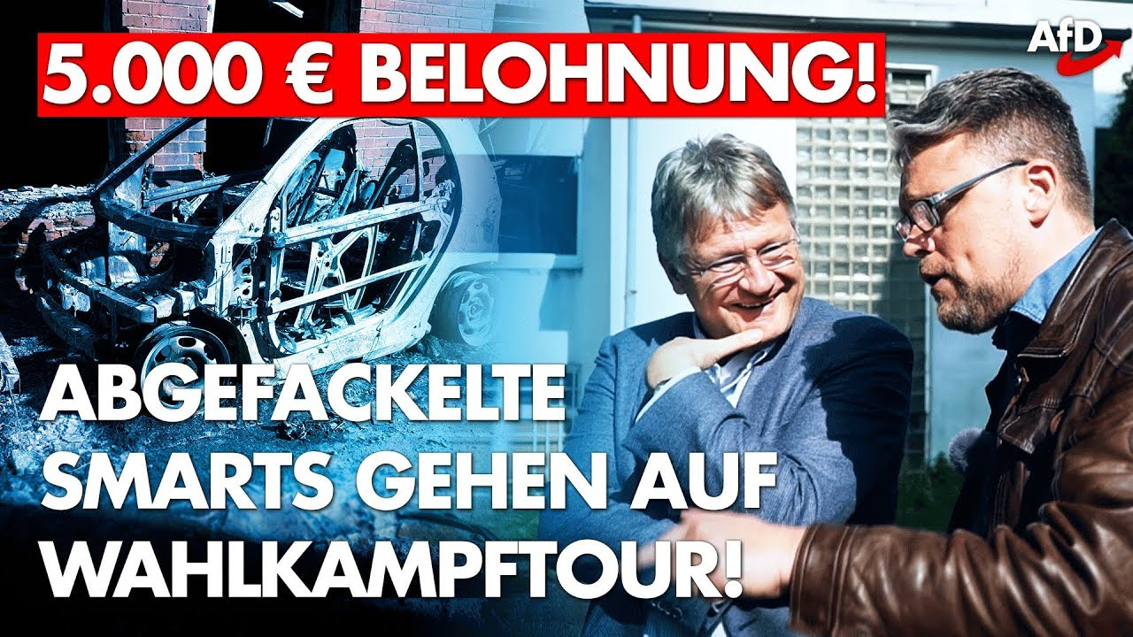 5.000 Euro Belohnung nach Brandanschlag in Essen!