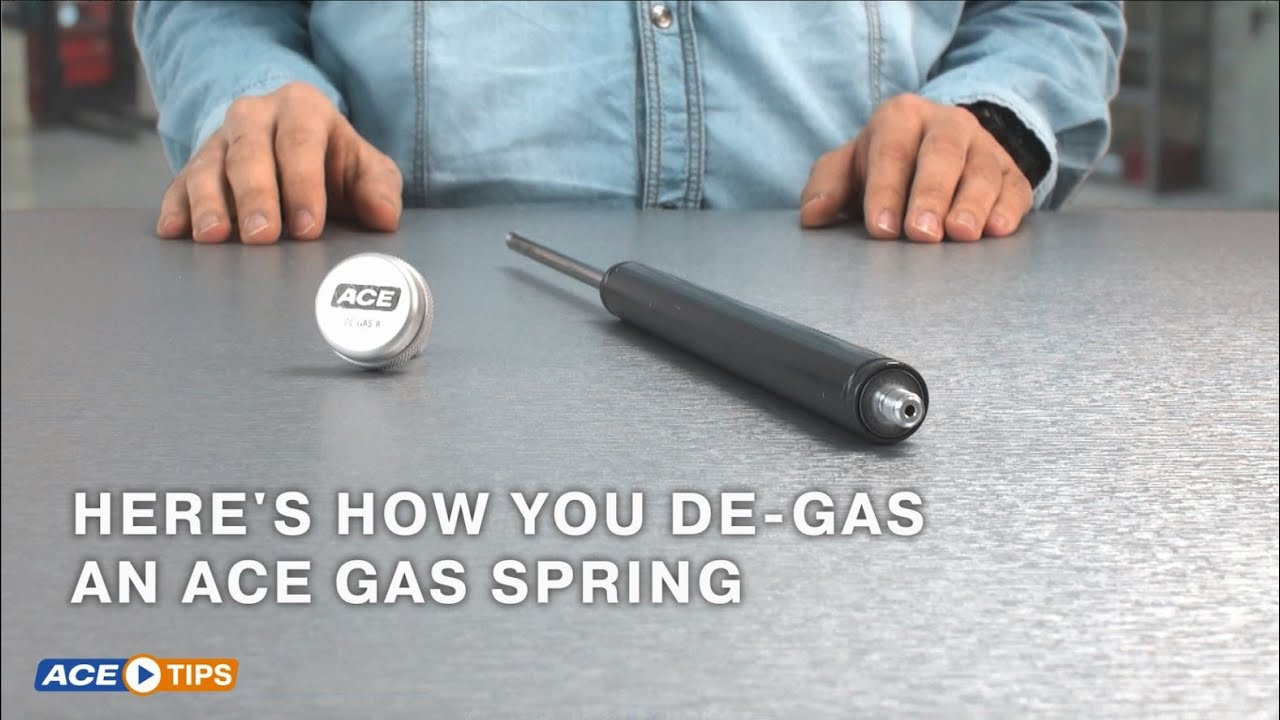 Acetips Pressure Adjustment In Gas Springs With Ace De