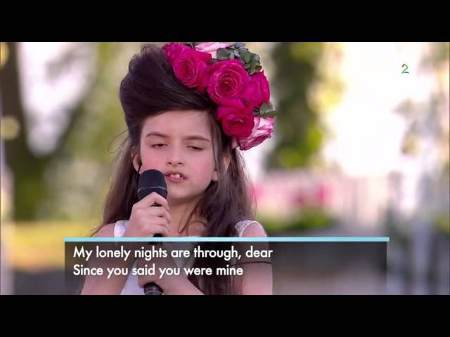 Angelina Jordan  ~ What A Difference A Day Makes ~   Allsang på grensen 3 07  2014