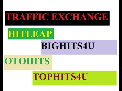 Bighits4U: What is Traffic Exchange ?? My Top Five Traffic Exchange Websites is here (Gerador de Trafego)