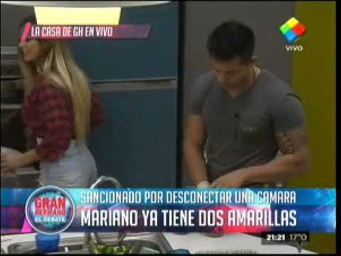 """""""Gran Hermano 2015"""": El """"Big"""" sancionó a Mariano con una amarilla"""