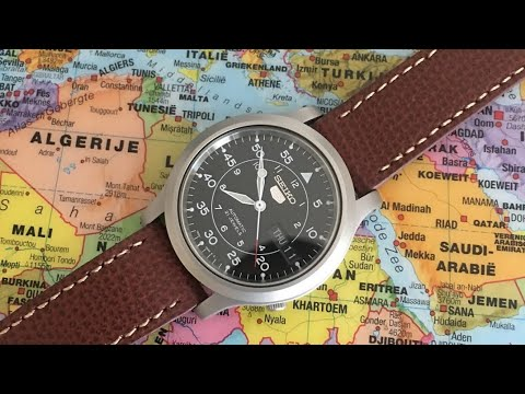 A Great Leather Watch Strap With Quick Release | Vario Everyday Vintage Italian Leather Strap