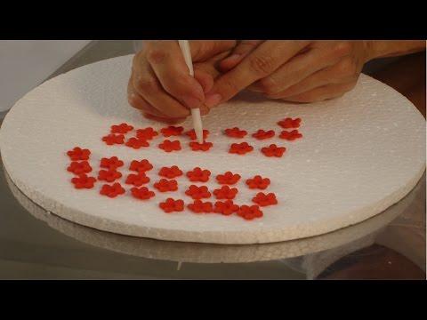 Clique e veja o vídeo Decoração de Bolos - Flores de Pasta Americana - Especial