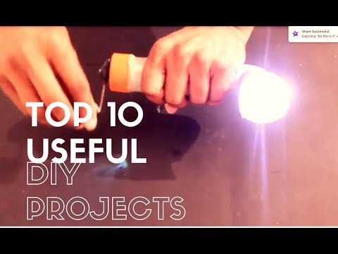 Top 10 Useful and Simple Electronics Projects 2017 - YouTube