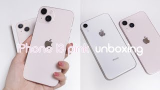 [Unboxing] iPhone 13 pink | iP…