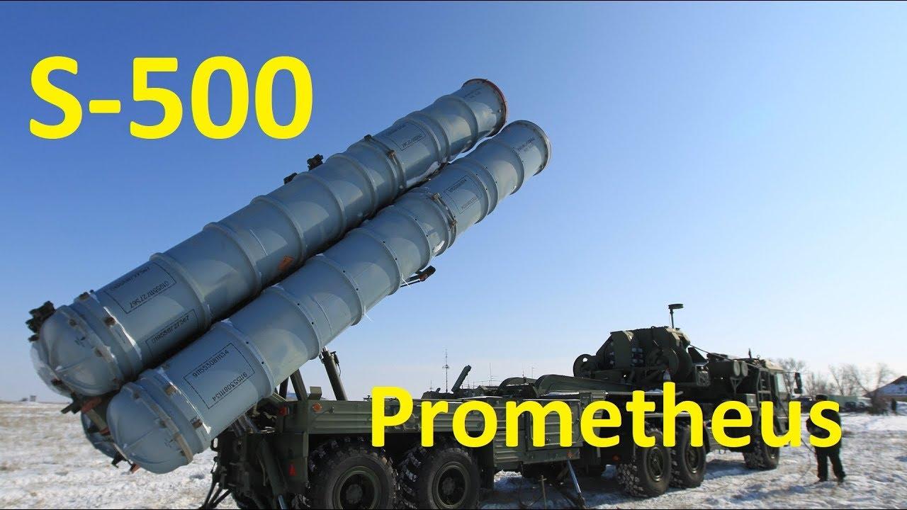 S-500 Prometheus Hava Savunma Füze Sistemi Hakkında Tüm Detaylar