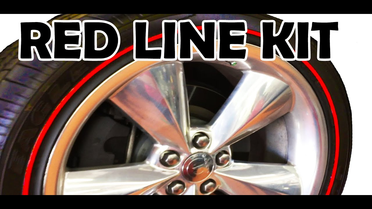 White Tire Paint >> REDLINE TIRE DECALS KIT - DIY Installation Video From Tire Stickers [HOW TO INSTALL] - YouTube