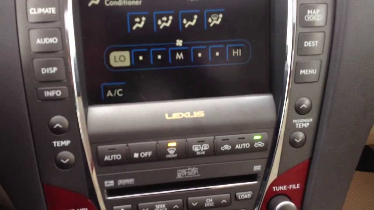 Pre Owned 2007 Lexus ES 350 Navigation with Back up Camera ...