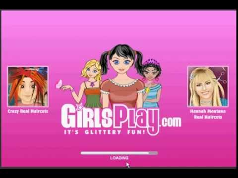 Barbie Kizlarin Sacini Kes