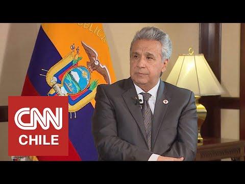 "Lenín Moreno acusa financiamiento de Maduro a Rafael Correa y a ""otro país de América Latina"""