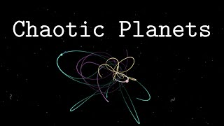 Chaotic Planets