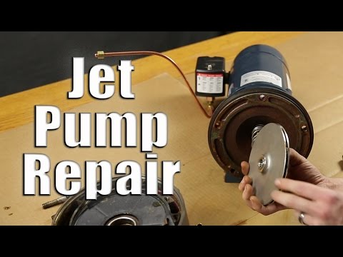 Jet Pump Repair: Disassemble & Reassemble Walkthrough