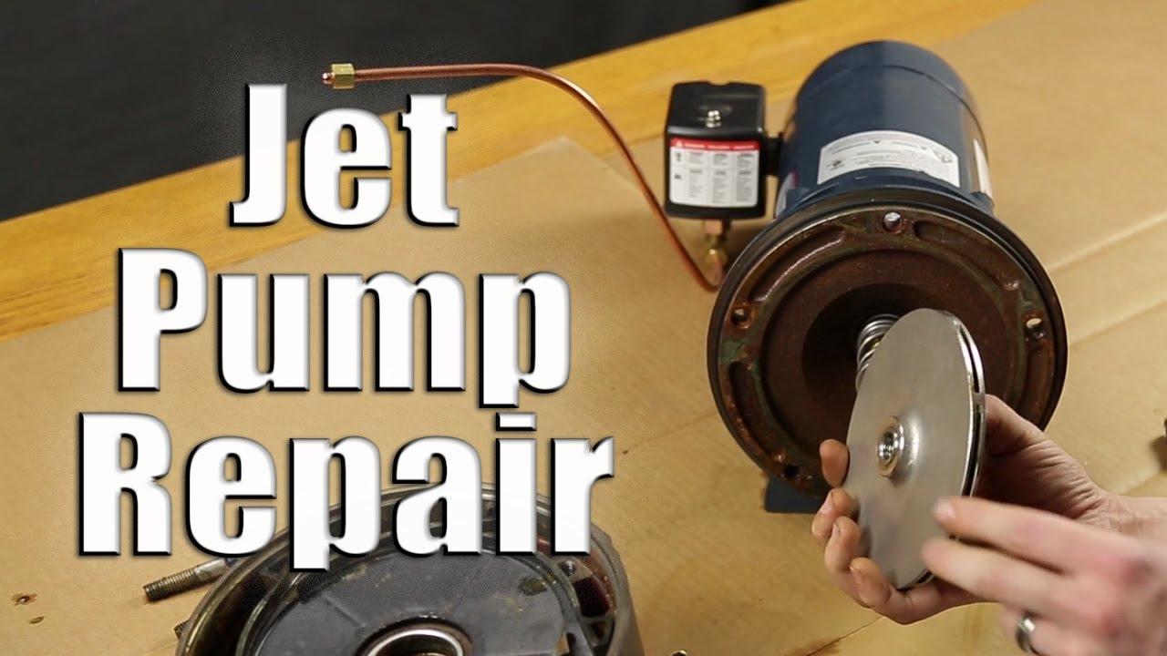 Jet Pump Repair Disassemble Amp Reassemble Walkthrough