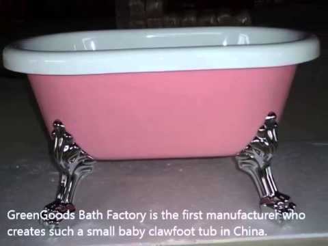 Delightful Baby Clawfoot Tub | Baby Bathtub