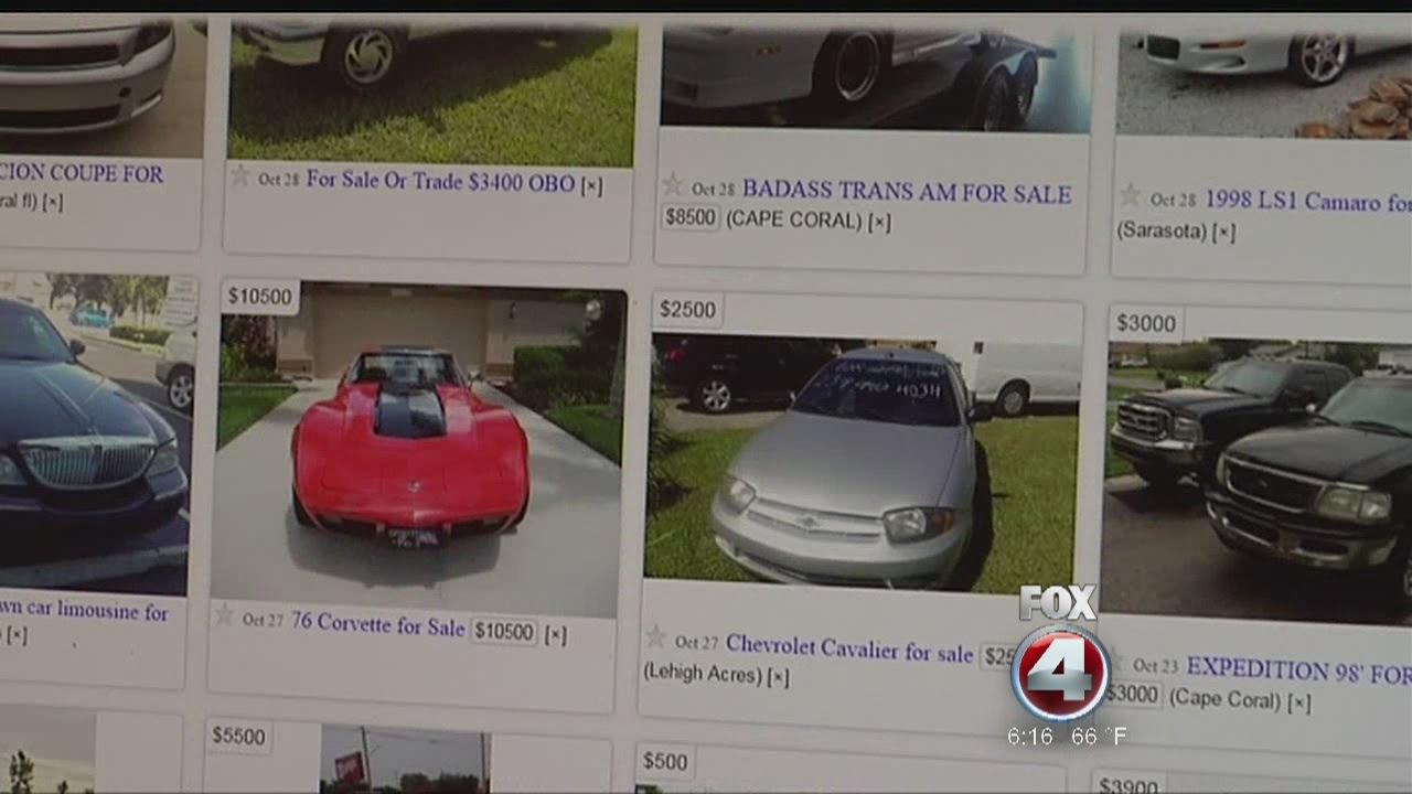 Craigslist car selling scam - YouTube