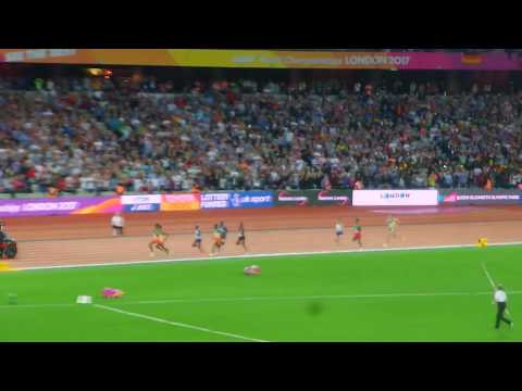 MO FARAH LOSES THE 5000M MEN FINAL ON HIS LAST EVER RACE (LONDON WORLD CHAMPIONSHIPS 2017)