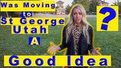 Moving to Saint George Utah Why I moved to Southern Utah