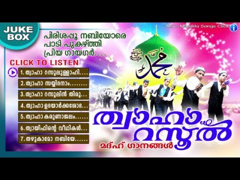 Thwaha Rasool | ത്വാഹാ റസൂൽ | Islamic Devotional Songs | Madh Songs Malayalam | Mappila Pattukal