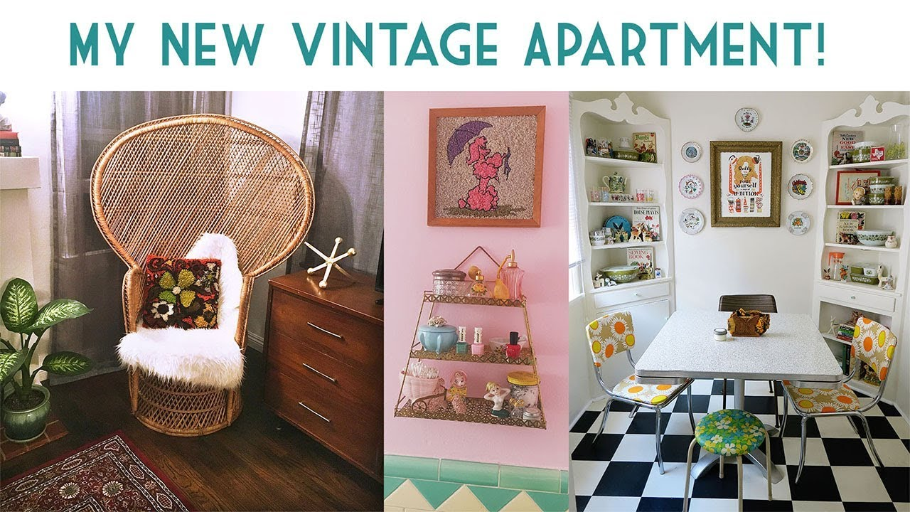 My New Vintage Apartment Emily Vallely