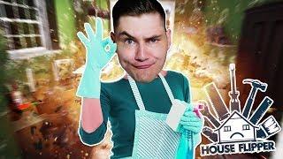 LJAY ZOSTAŁ SPRZĄTACZKĄ! House Flipper #1
