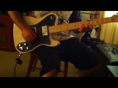 '72 Fender Telecaster Custom Reissue, CIJ, Silvertone 1434 Medalist Amp
