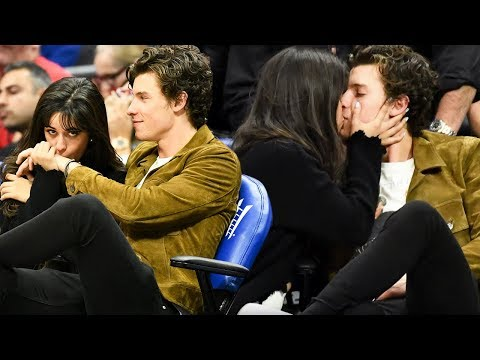 Camila Cabello and Shawn Mendes MAKE OUT at Clippers Game