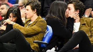 Gambar cover Camila Cabello and Shawn Mendes MAKE OUT at Clippers Game!