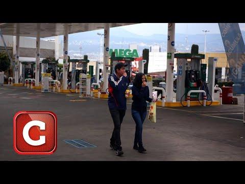 Pega desabasto de gasolina