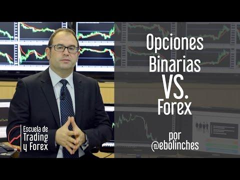 Opciones Binarias VS Forex