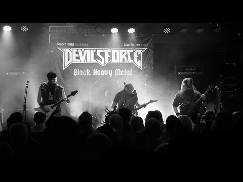Devil's Force - Black Heavy Metal (OFFICIAL MUSIC VIDEO)