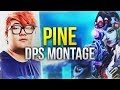 PINE - CRAZY DPS Montage Widowmaker / McCree Carry - Overwatch Montage