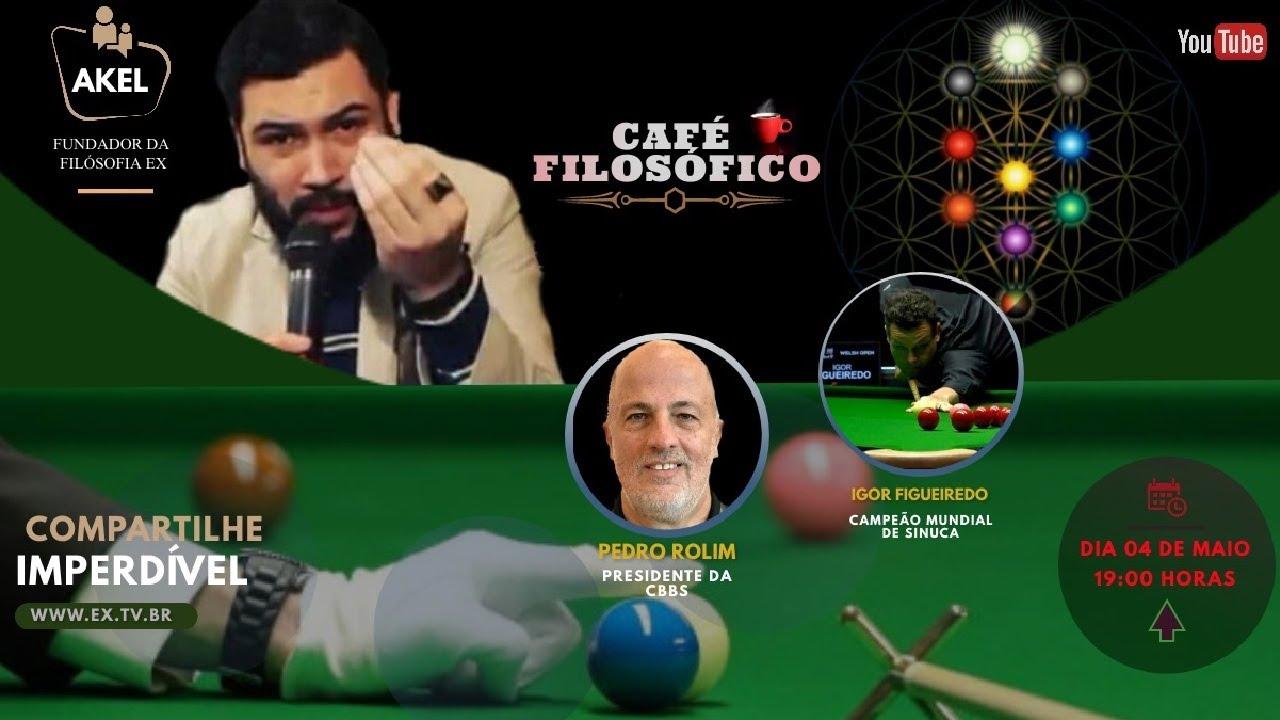 🎱 Juntos TORCENDO por IGOR Figueiredo no Mundial de Snooker | Presidente da CBBS, Pedro Rolim