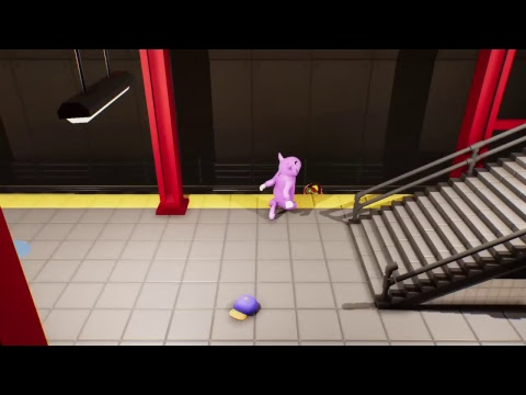 [Live streaming] Gang Beasts online Battle