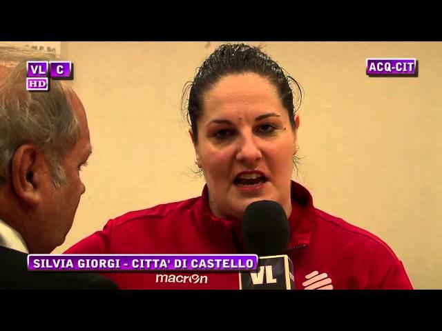Interviste Acquasparta vs Città di Castello