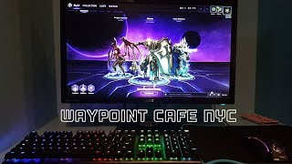 Waypoint Cafe NYC | Gaming Cafe
