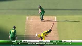 Babar Azam 100 vs Australia 5th ODI 2017